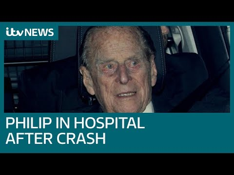 Prince Philip visited hospital for check-up after crash | ITV News