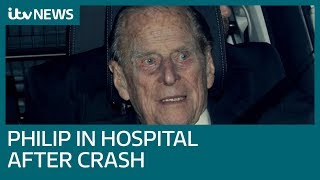 Prince Philip visited hospital for check-up after crash | ITV News