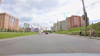Novosibirsk - Roads city- Russia / Новосибирск 4К