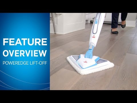 PowerEdge Lift-Off Steam Mop Overview   BISSELL