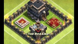 The Red Line vs. ClashHeads EPIC Clan War Battle | Clash of Clans