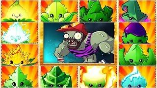 Plants vs Zombies 2 BattleZ: All Mints Pvz2 Vs Cardio Zombie: Gameplay 2019