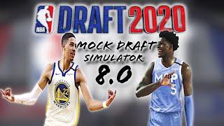 2020 NBA Mock Draft Simulator 8.0 | Where does Tyrese Haliburton Land?