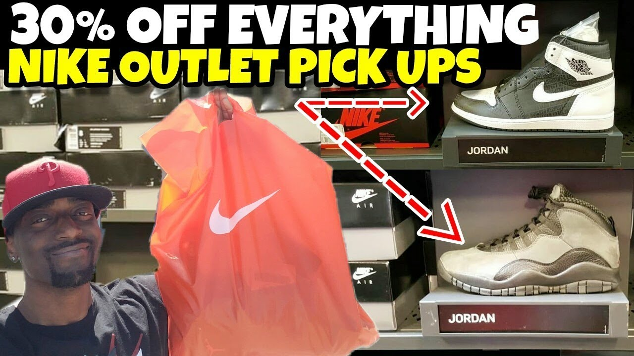 save off e7e67 a9076 NIKE OUTLET 30% OFF EVERYTHING PICK-UPS FOR A STEAL!!!