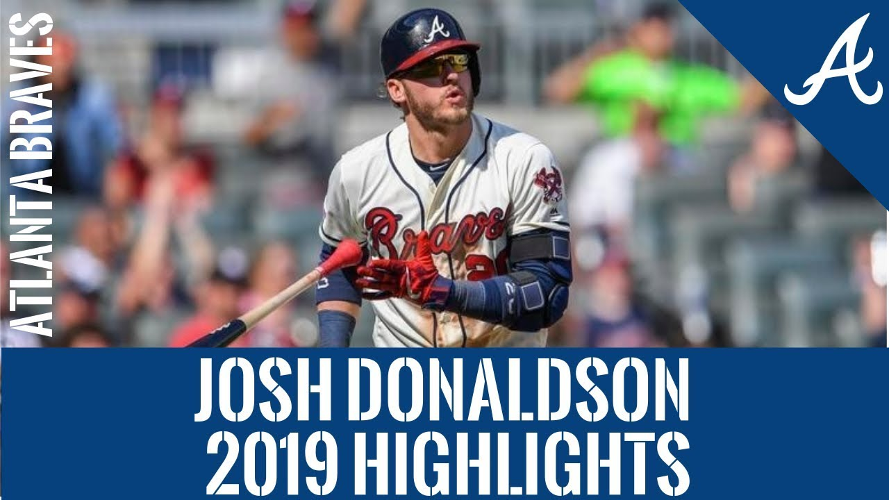 "Josh ""Bringer of Rain"" Donaldson | 2019 Atlanta Braves Highlights HD"