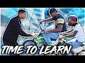 TEACHING NYYEAR AND NATESLIFE HOW TO RIDE A DIRT BIKE ! | BRAAP VLOGS