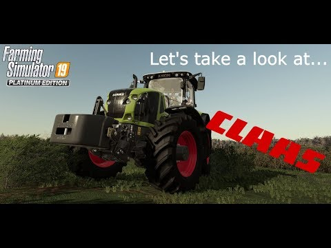 Let's take a look at the Claas DLC | Platinum Expansion | Farming Simulator 19 |
