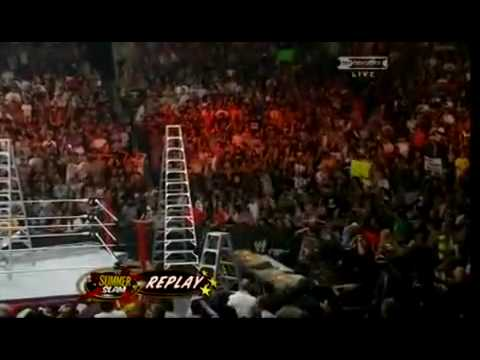 Hardy vs Punk - TLC - Undertaker Returns - SummerSlam 2009