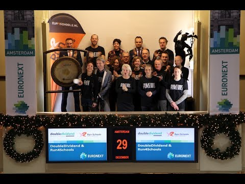 DoubleDividend and Run4Schools sound gong on last trading day of the year