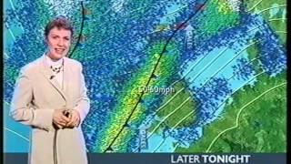 Repeat youtube video BBC Weather 16th January 2003