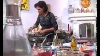 Choumicha présente 2 recettes: Briouates aux crevettes et à la viande hachée (V Fr)