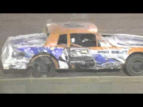 Ark La Tex Speedway factory stock heat race 1 9/26/15