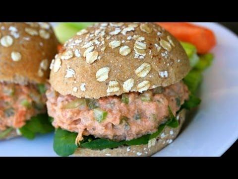 Salmon Salad Sandwich Recipe - Clean & Delicious®
