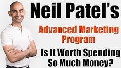 Neil Patel Advanced Marketing Program - Is It Worth Spending Money On?