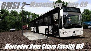 OMSI 2 • Manningen (line 69) • Mercedes Benz Citaro Facelift MÜ