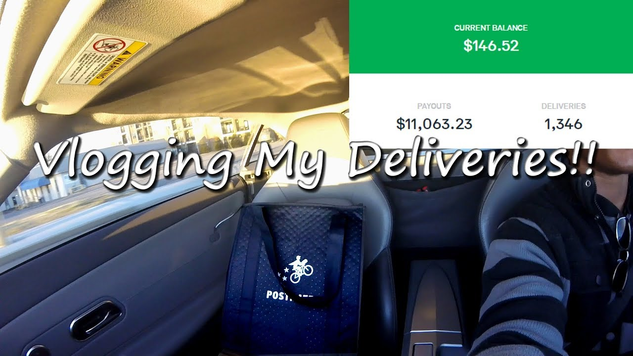Driving for Postmates Fleet - Making a Delivery, How Your Paid, Blitz |  Dream Driven 027