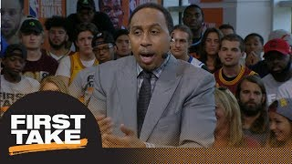 Stephen A. doesn't agree that Cavaliers would be up 3-0 if they had Kyrie Irving | First Take |
