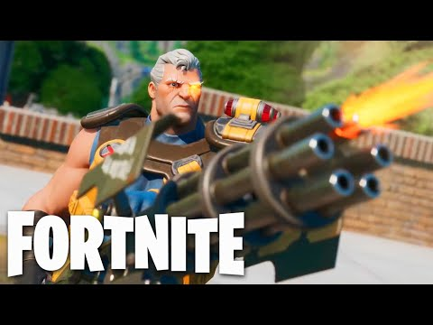 Fortnite - X-Force And Deadpool Official Trailer