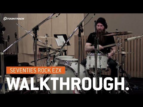 EZdrummer 2: Seventies Rock EZX – Walkthrough