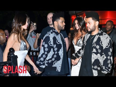Selena Gomez and The Weeknd Have Date Night in NYC | Splash News TV