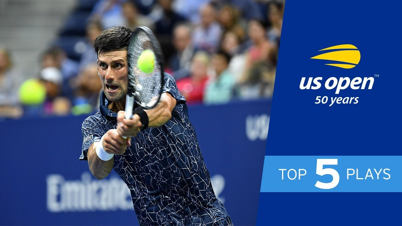 Top 5 Plays from Day 4 Action of the US Open 2018