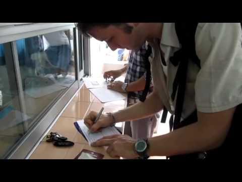 Signing in Klong Prem Prison