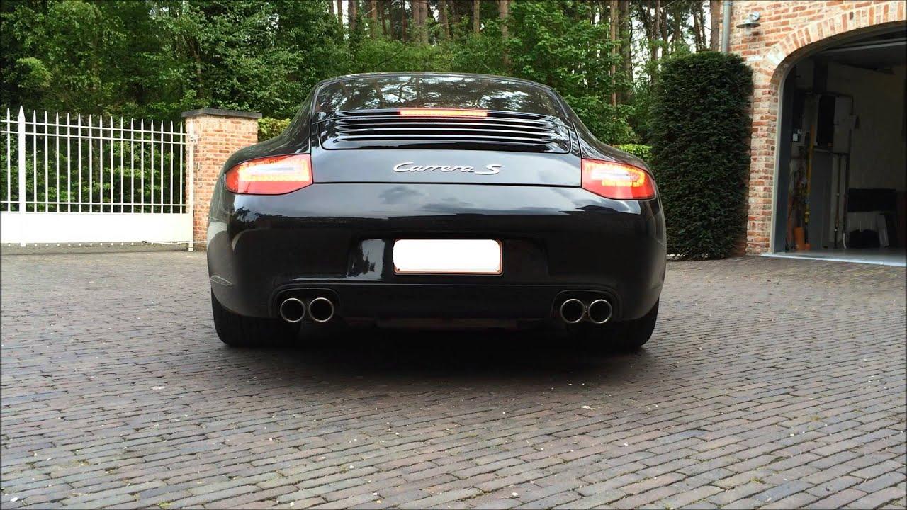 Porsche 911 997 Carrera S PDK Original Exhaust Sound Rev