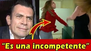 Jorge Salinas ARREMETE CONTRA Paulina Goto por CACHETADA a Elizabeth Álvarez
