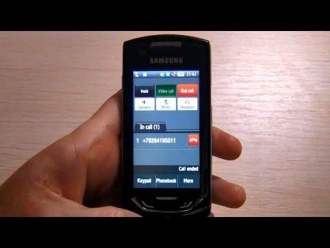 Samsung Monte S5620 Video clips - PhoneArena