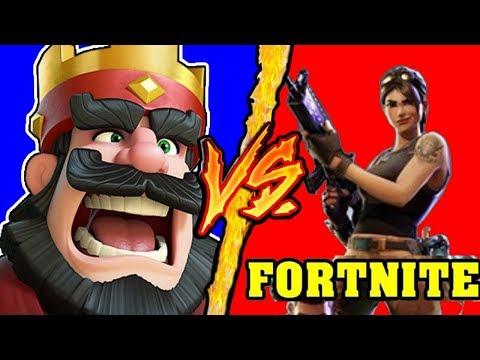 Fortnite VS Clash Royale - Battaglia Rap Epica Freestyle - Manuel Aski