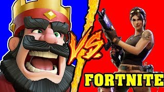 Fortnite VS Clash Royale - Battaglia Rap Epica Freestyle - Manuel Aski