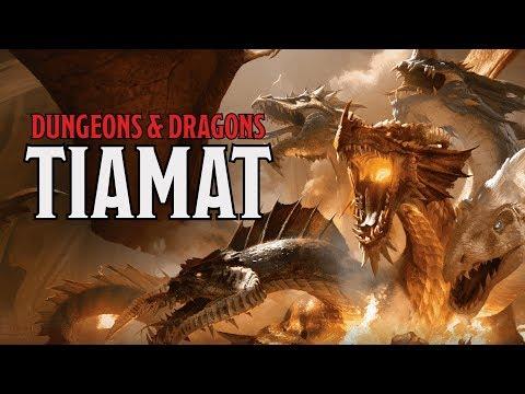 Tiamat: Goddess of Evil Dragons in Dungeons & Dragons