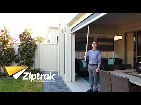 Ziptrak®   Outdoor Blinds   Pull Stick