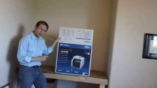 Brother Printers MFC-9330CDW unboxing