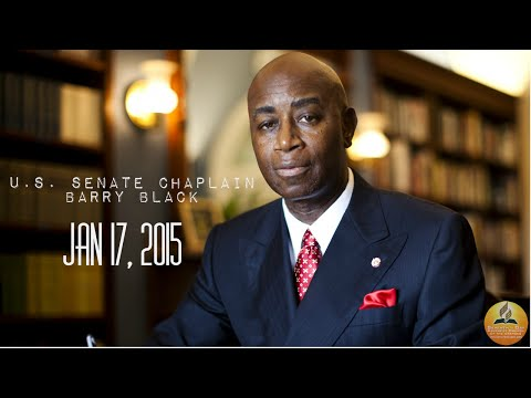 """Dr. Barry Black- """"A Reflective Moment"""" January 17, 2015"""