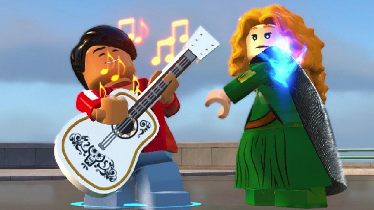 LEGO The Incredibles - Miguel (Coco) & Merida (Brave) Unlock Location + Gameplay Showcase
