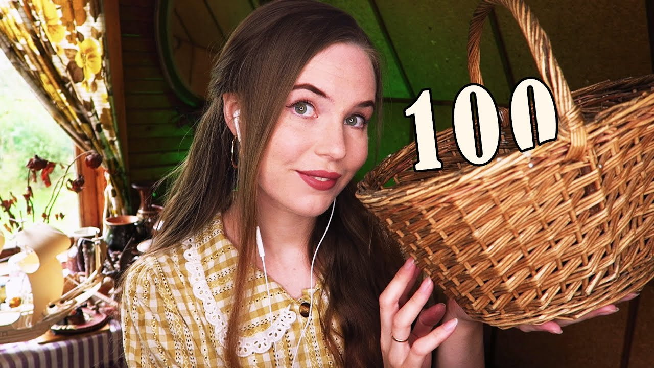 100 Triggers in 5 Minutes ASMR [COTTAGECORE & VINTAGE]