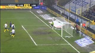 Matchverslag Club Brugge - Lokeren 25 januari 2012