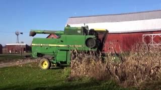 John Deere 6620 Combine Harvest 2016