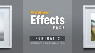 Proshow Effects Pack: Portraits Demo