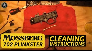 Mossberg 702 Plinkster Cleaning