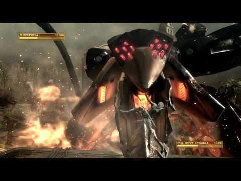 Metal Gear Rising: Revengeance (PC) walkthrough - Guard Duty