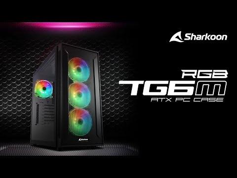 Sharkoon TG6M RGB ATX PC Case