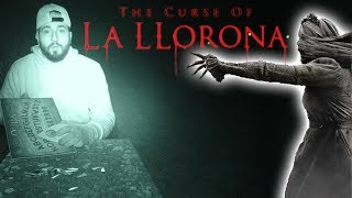 (GONE WRONG) I SUMMONED La Llorona ON A OUIJA BOARD IN A CEMETERY | MOE SARGI