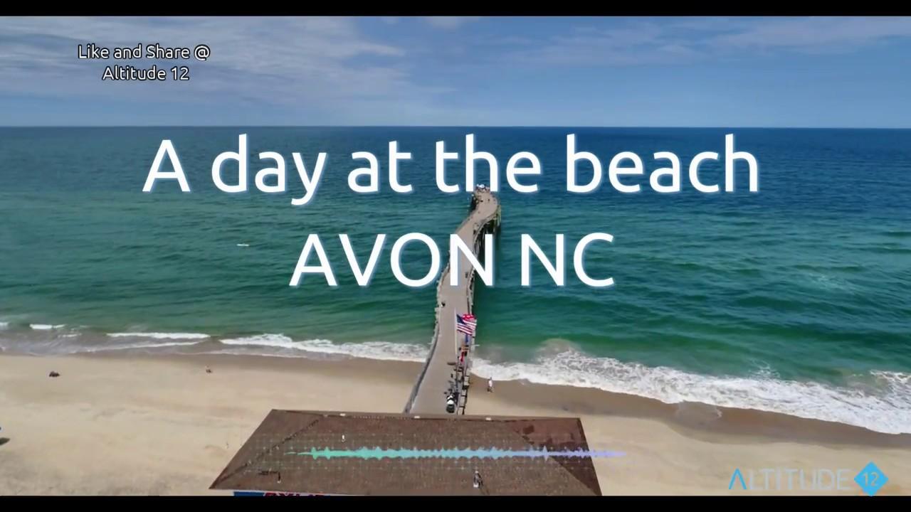 avon nc beach day youtube avon nc beach day