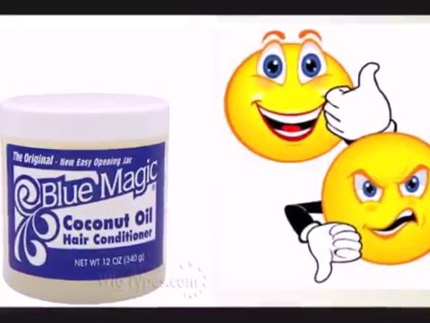 Blue magic coconut hair conditioner