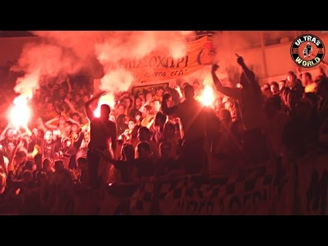 Aris Fans Amazing Singing In Basketball Derby! (2010) #worldofultras