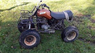Самодельный квадроцикл на базе Тулы.Homemade quad bike