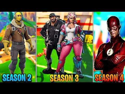 NEW SEASON 4 Skins for FREE! Super Hero Skins UNLOCKED! Fortnite FREE Skins GIVEAWAY! (FREE VBUCKS)