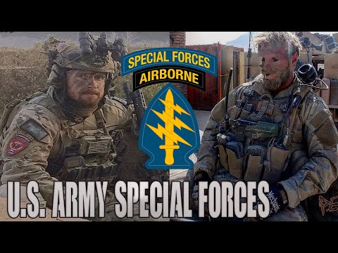US Army Special Forces | Green Berets | Quiet Professionals -